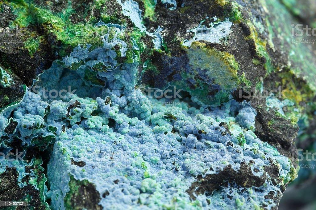 Malachite macro royalty-free stock photo