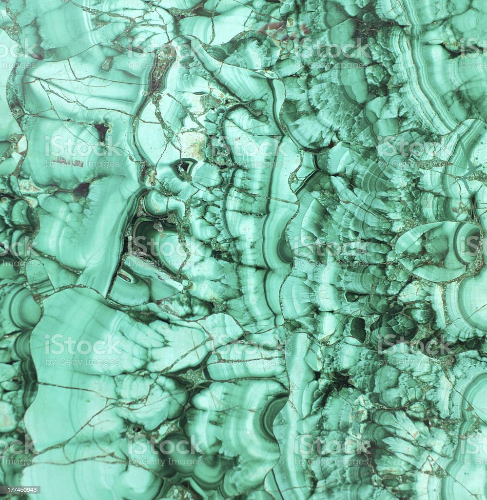 Malachite texture royalty-free stock photo