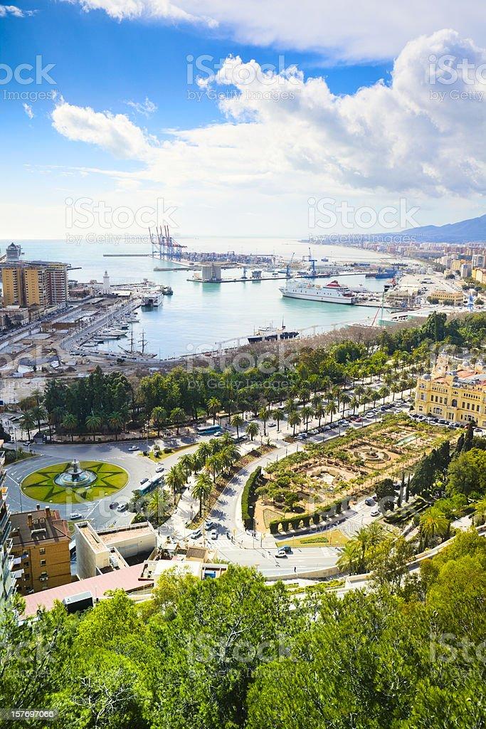 Malaga, Costa del Sol, Spain royalty-free stock photo