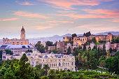 istock Malaga, Spain Cityscape on the Sea 526227145