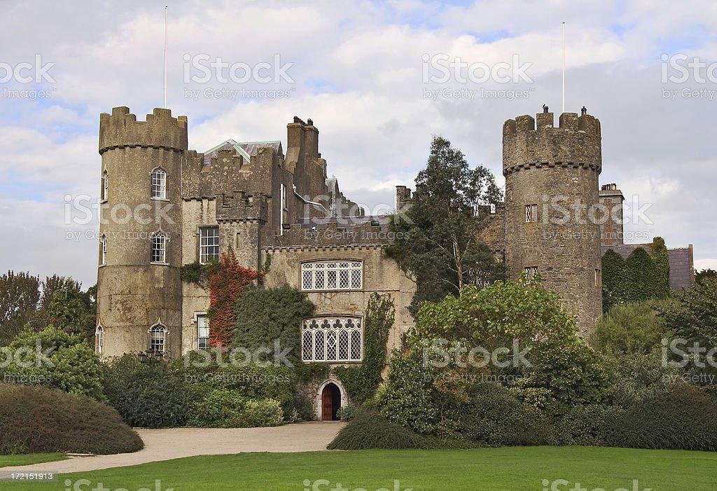 Malahide Castle royalty-free stock photo