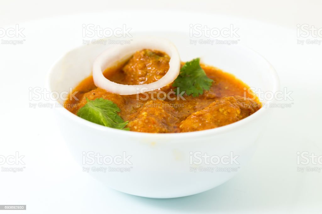Malai Kofta - Traditional Indain food stock photo