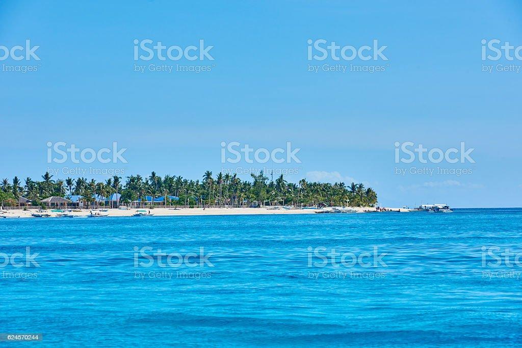 Malapascua island Cebu Philippines royalty-free stock photo