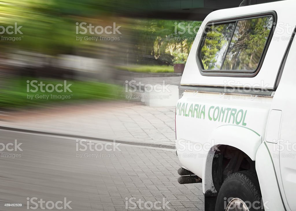 Malaria Control stock photo