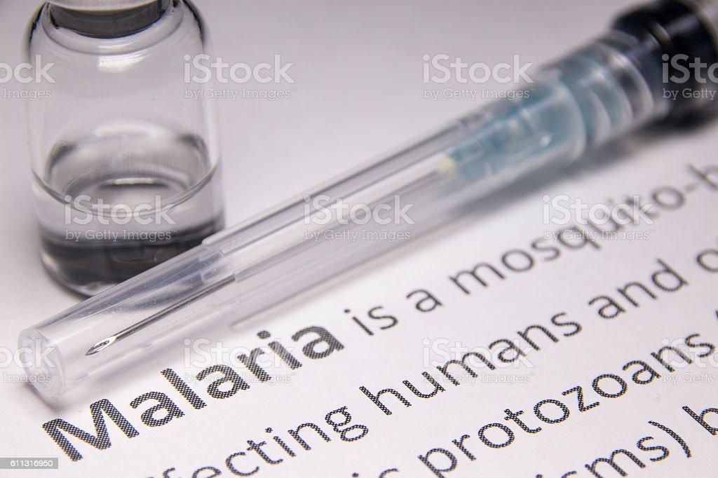 Malaria stock photo