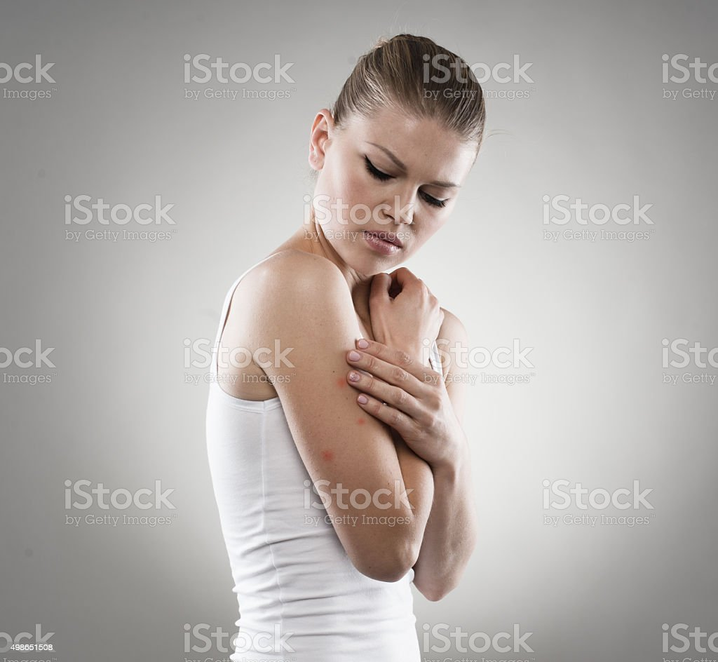 Malaria problem stock photo