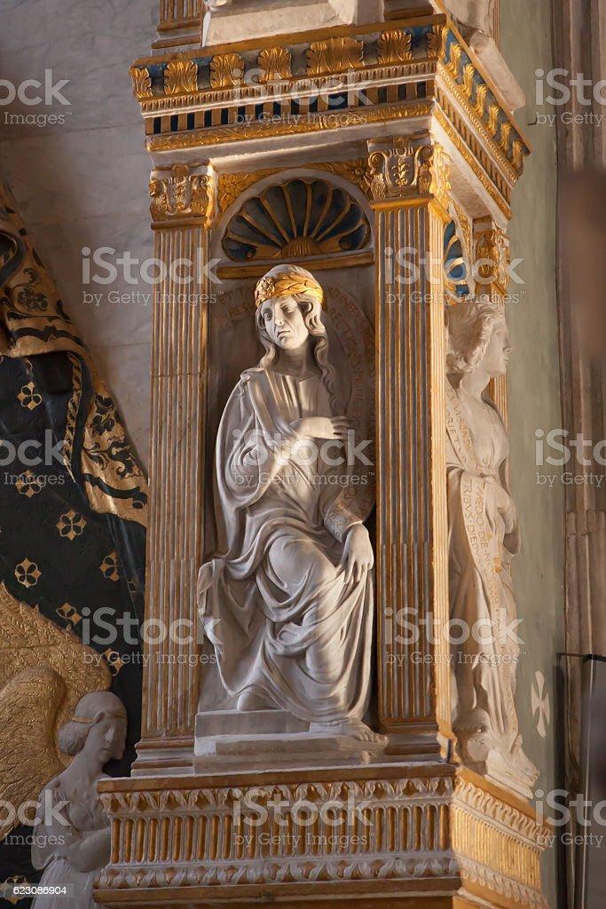 Malatesta Temple of Rimini stock photo