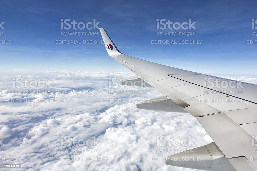 Malaysia Airline Boeing 747/777 stock photo