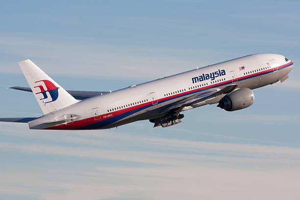 Malaysia Airlines Boeing 777-200/ER stock photo