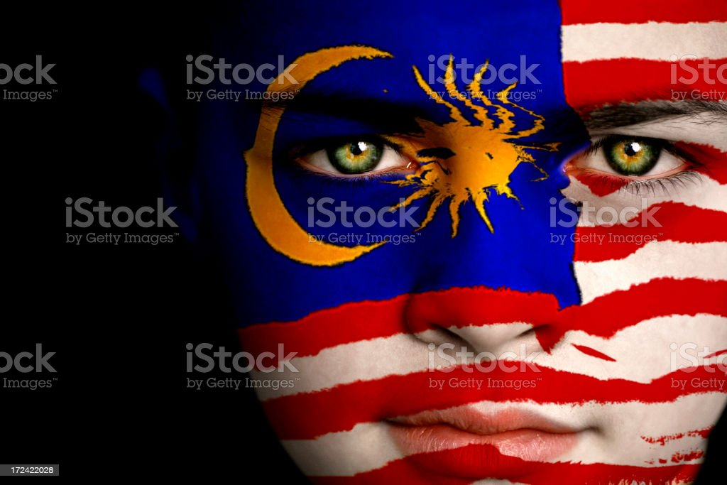 Menino Malásia - foto de acervo