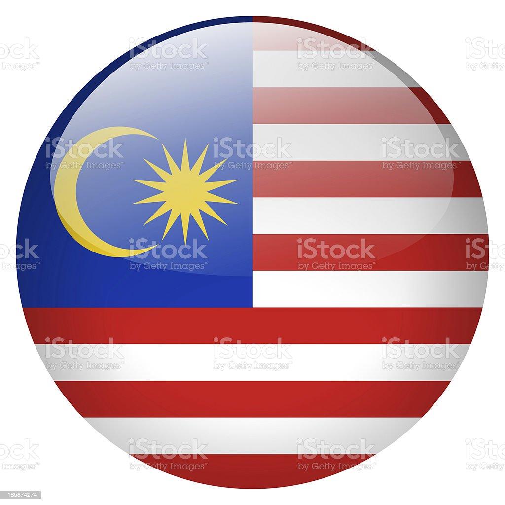 Malásia botão - foto de acervo