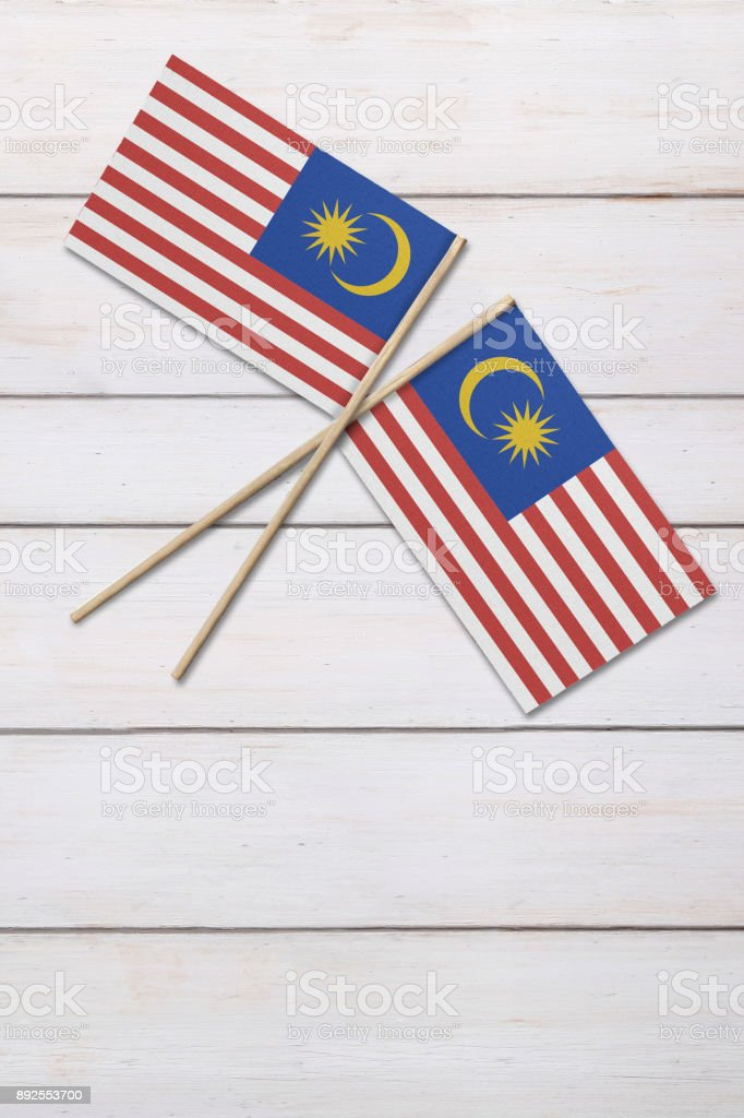 Bandeira da Malásia - foto de acervo