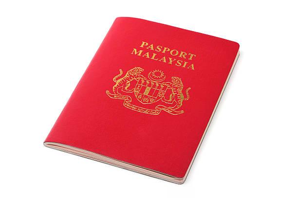 malaysia passport  pasport malaysia stock pictures, royalty-free photos & images