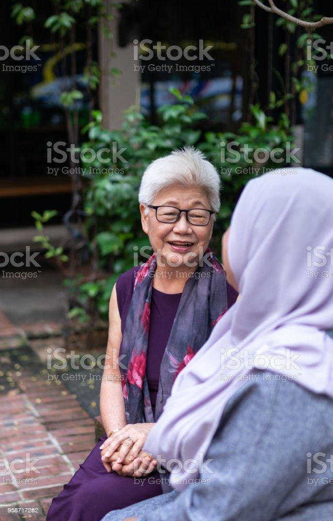 Malaysia People stock photo