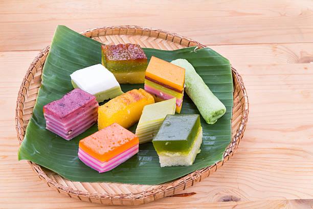kueh kuih malaysia assorted nyonya dessert malay known popular sweet food peranakan malaysian similar nonya