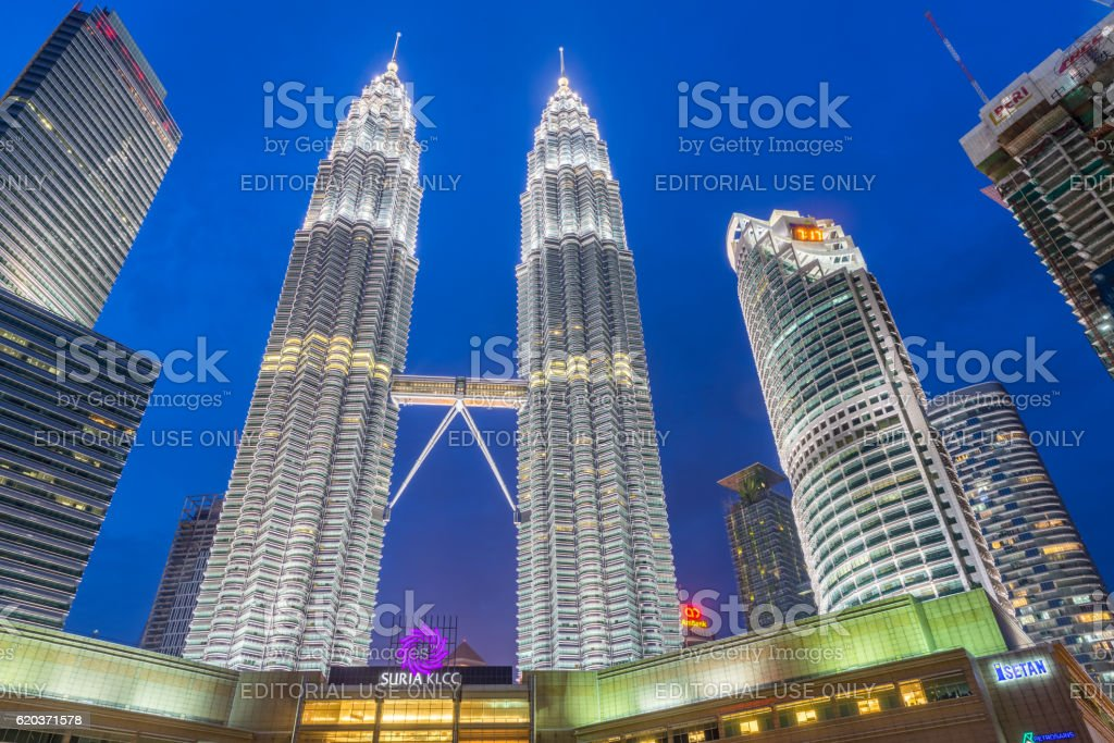 Malaysia Twilight zbiór zdjęć royalty-free