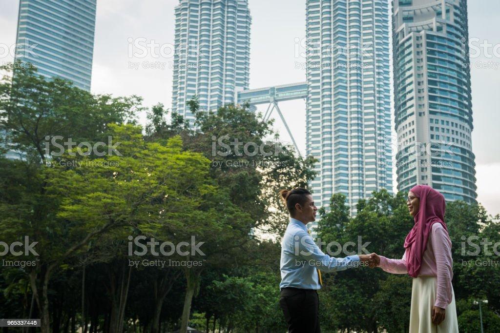 馬來西亞商務團隊 - 免版稅30多歲圖庫照片