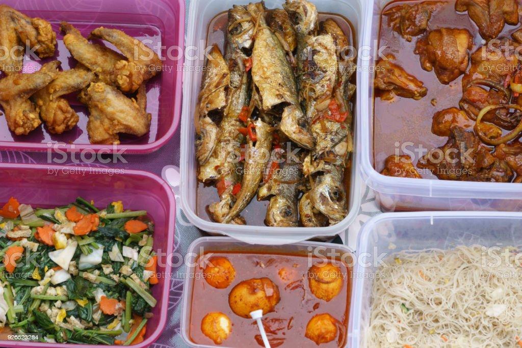 Photo Libre De Droit De Plats Cuisines Maison Malaisiens Banque D