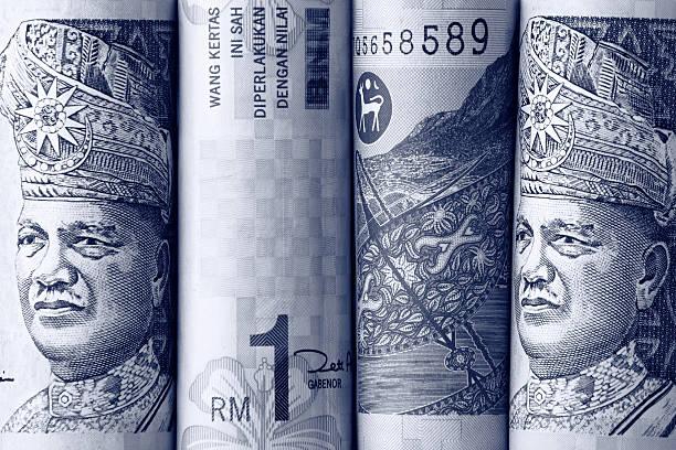 Malaysian Ringgits stock photo