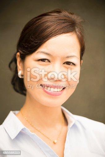 519052198 istock photo Malaysian Woman Smiling 485588003