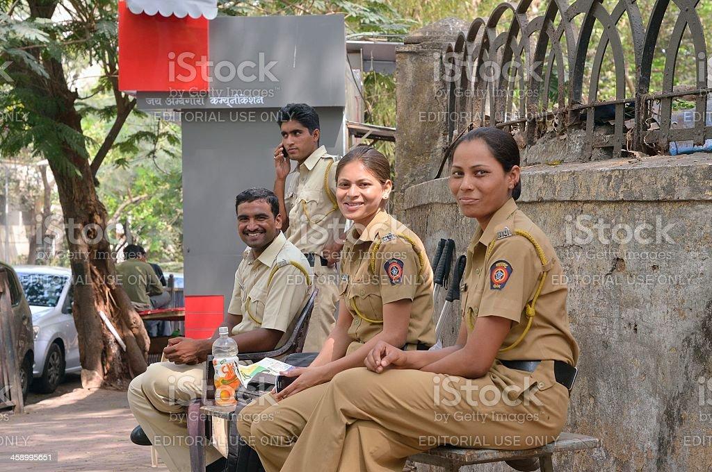Malbar Hill Police stock photo
