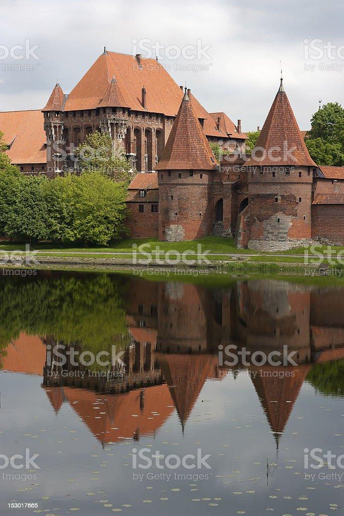 Malbork stock photo