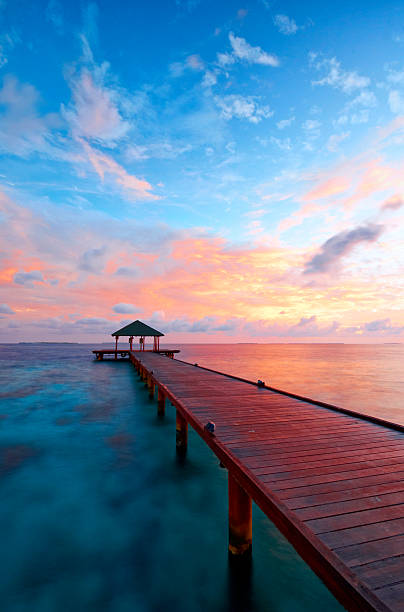 Maldives Dawn Colours - Photo