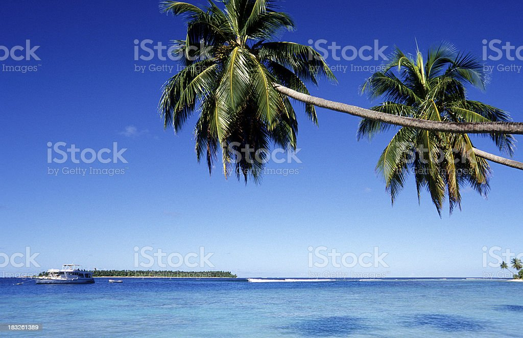 Maldives, southern atolls, Islands. royalty-free stock photo