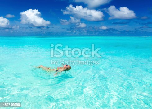 istock Maldivian coast travel to paradise 469799599