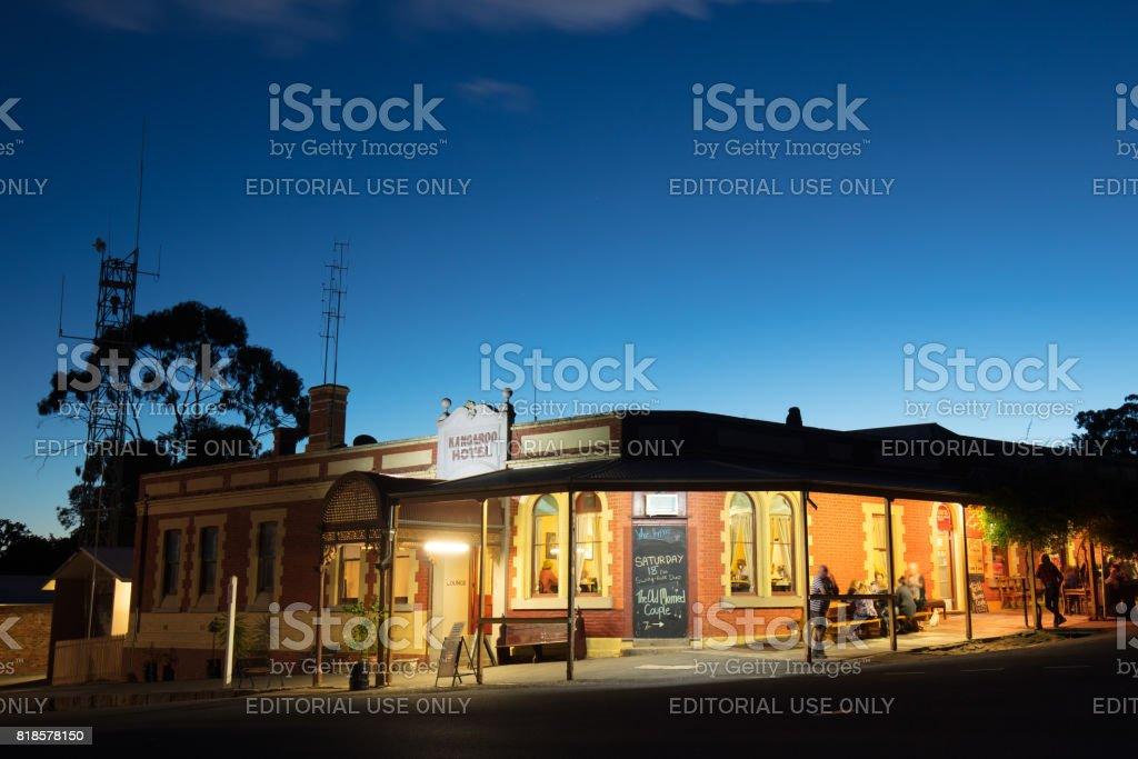 Maldon Heritage Building stock photo