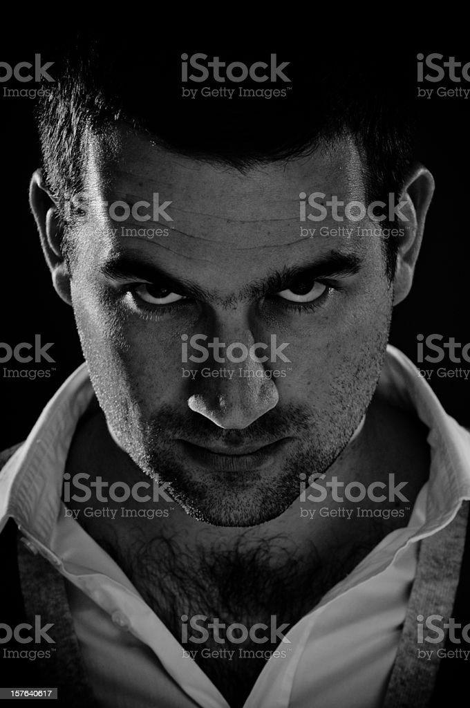 Male adult portrait royalty-free stock photo