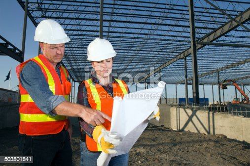 istock Male and Female Architects 503801841