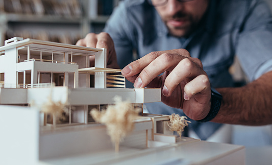 architecture model stock photos
