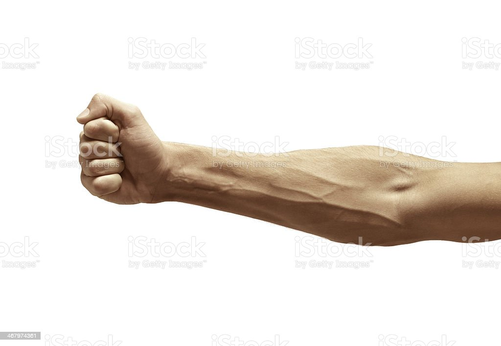 male arm bildbanksfoto