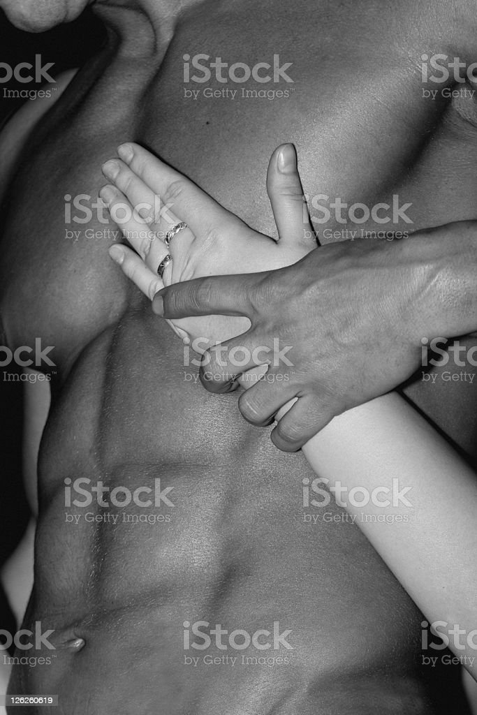 male attraction stock photo