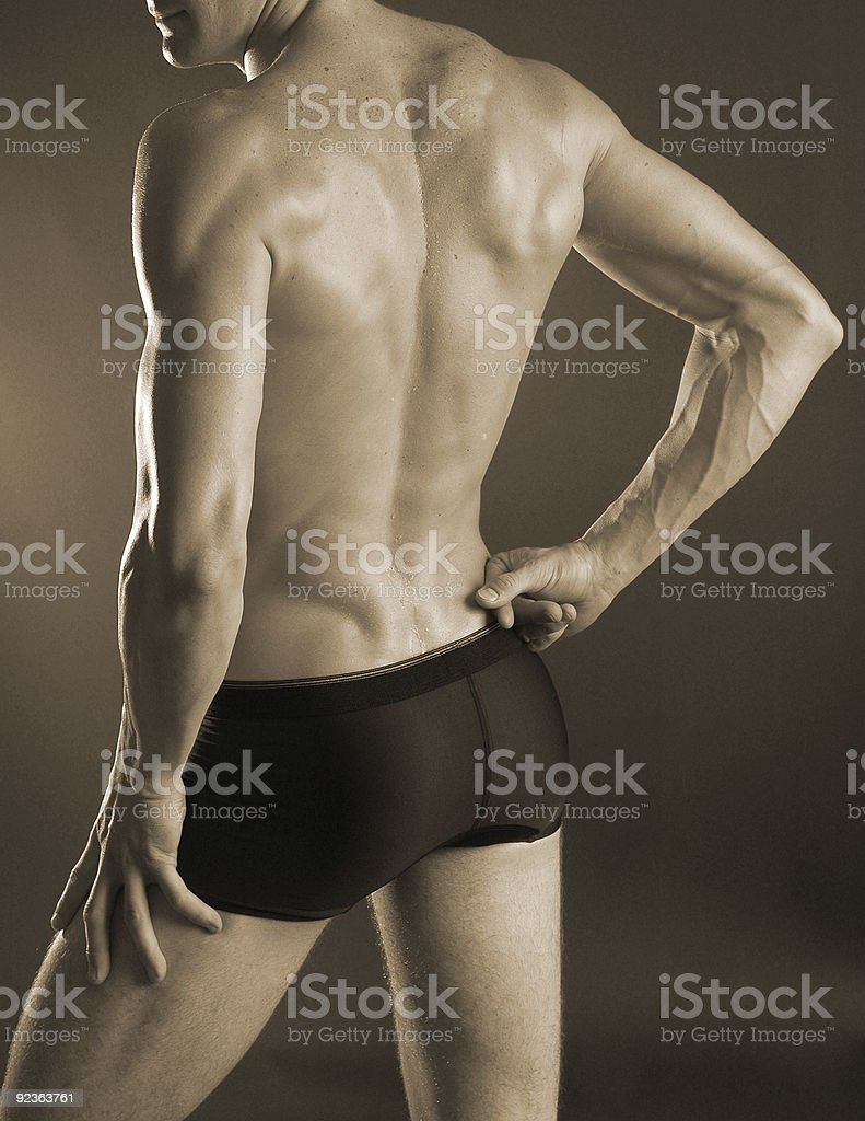 male backside stock photo