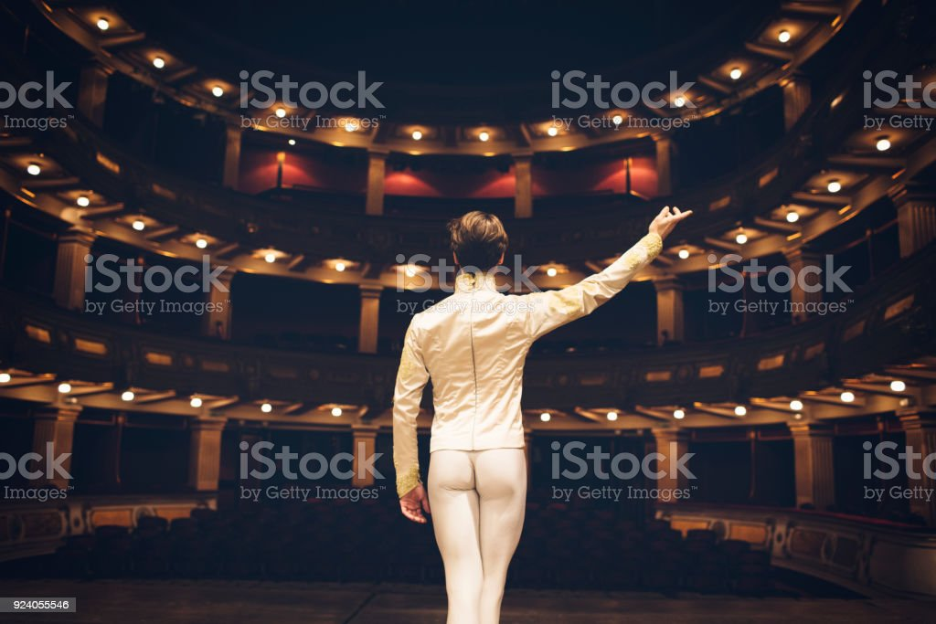 Male Ballet Dancer stock photo