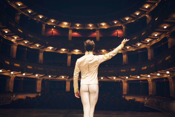 Male Ballet Dancer - foto stock