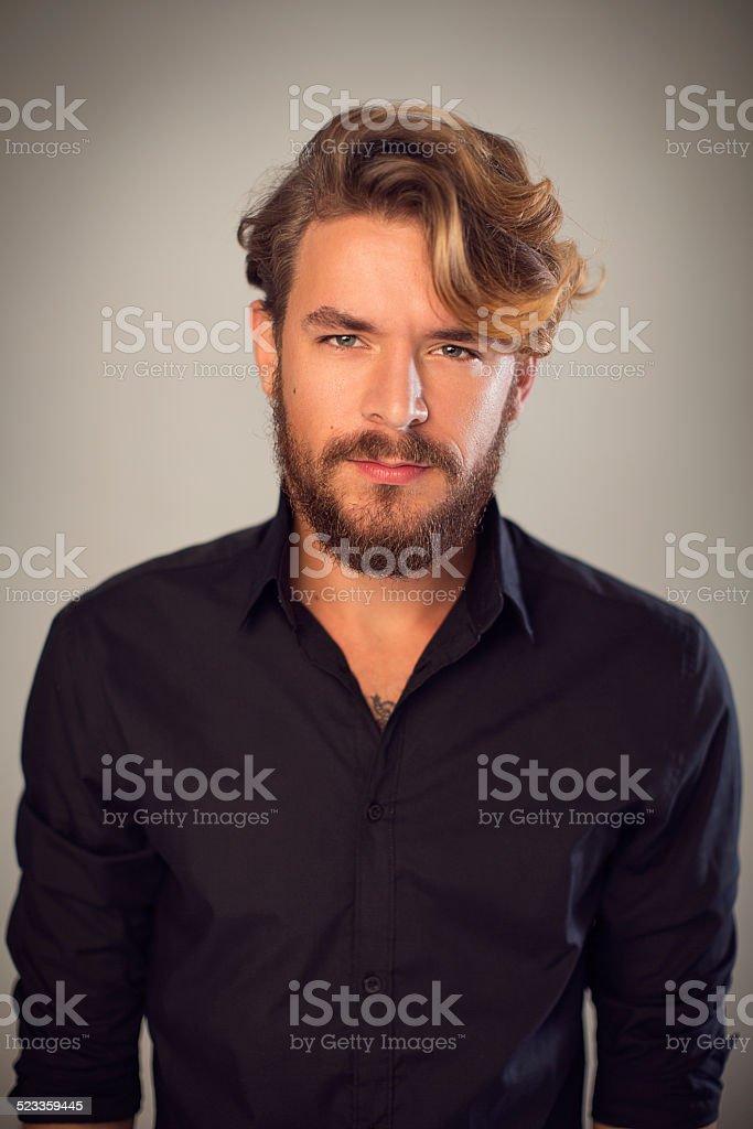 Male beauty. stock photo