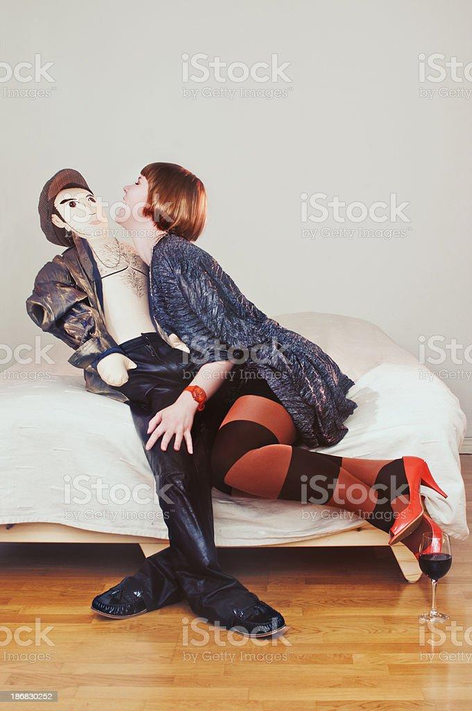 Männliche blow-up doll – Foto