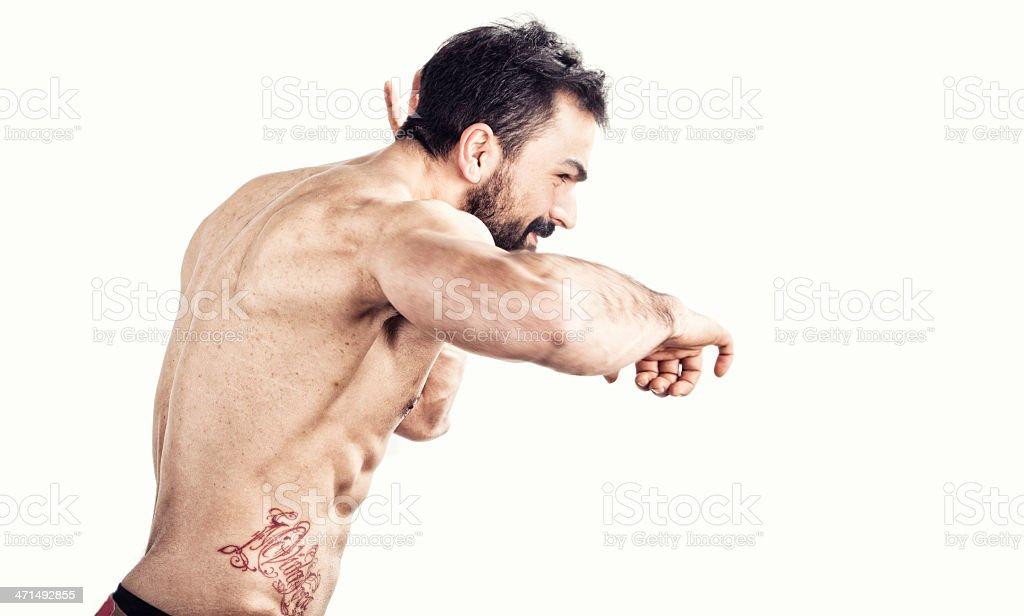 Male Body royalty-free stock photo
