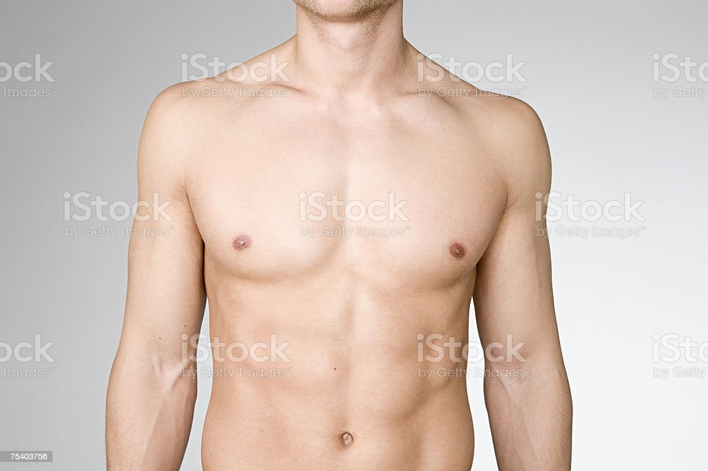 Male body stock photo