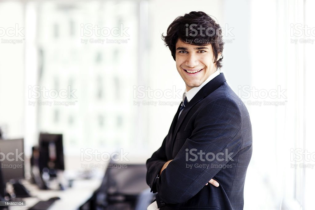 Männliche Geschäftsmann Lizenzfreies stock-foto