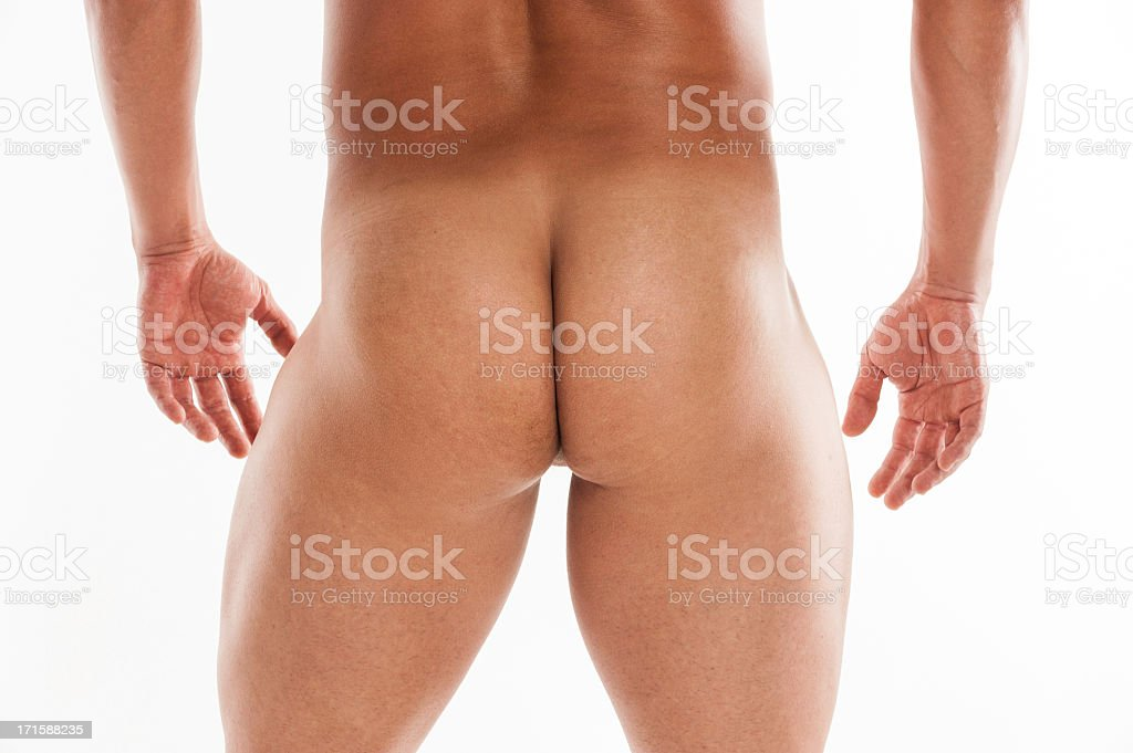 Male Buttock royalty-free stock photo