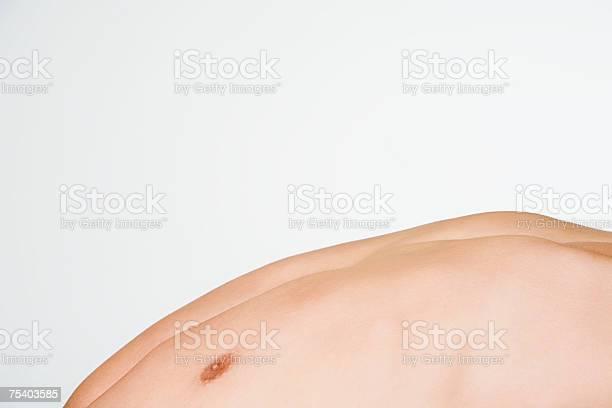 Männliche Der Brust Stockfoto und mehr Bilder von Beugen oder biegen