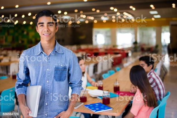 Male college student with laptop looking at camera picture id836564126?b=1&k=6&m=836564126&s=612x612&h=xo4xwtqzielbbmhoxgfec2cfmtojm4hcxizb4yag0d0=