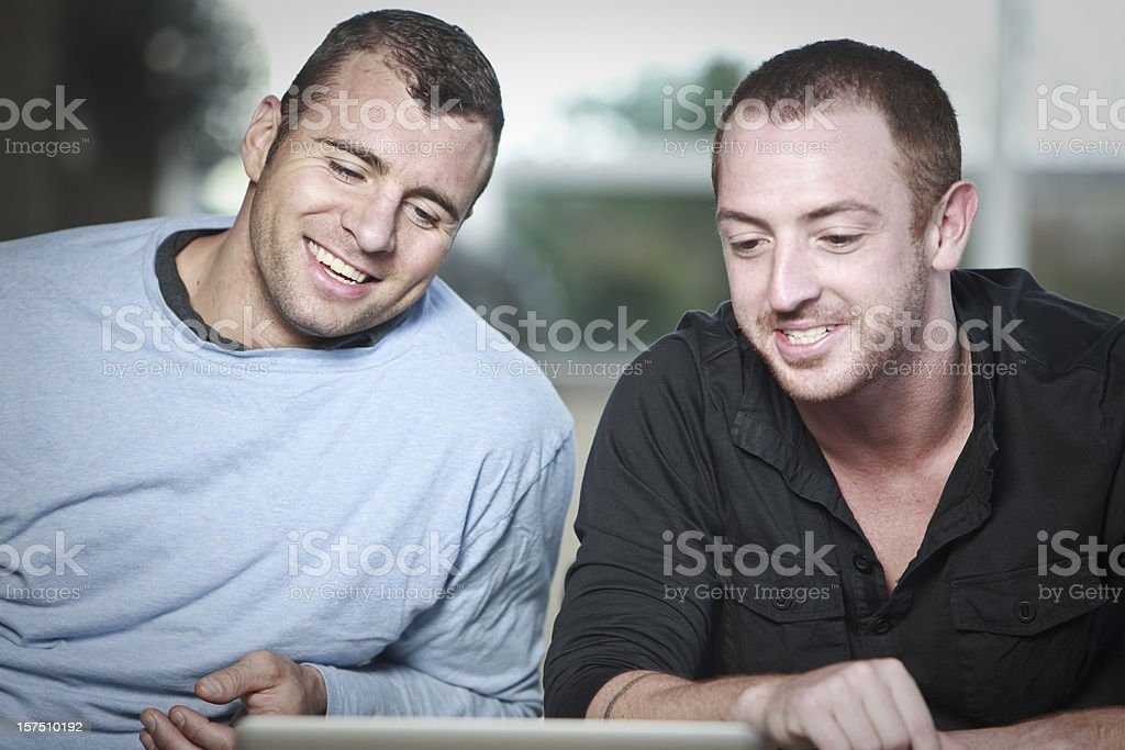Male couple royalty-free stock photo