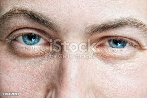 istock male face with enlarged pores and blue eyes 119035689