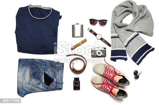 istock male fashion accessories flat lay isolated 856177000