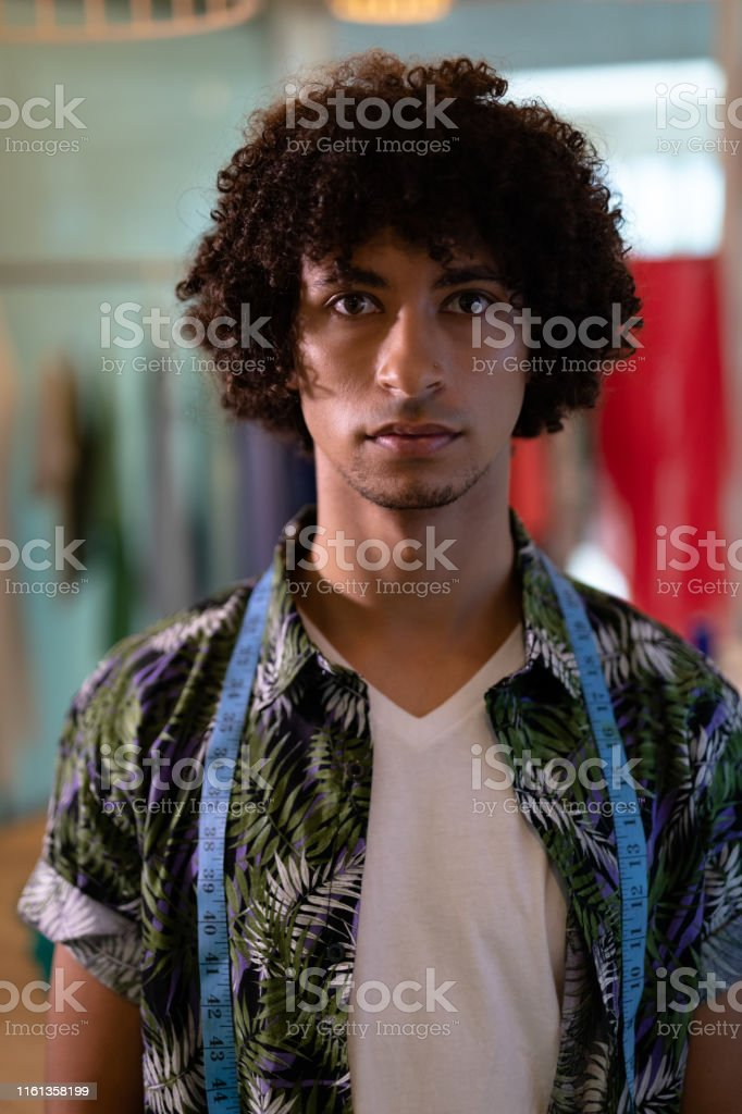 Male Fashion Designer Standing In Design Studio Stock Photo Download Image Now Istock